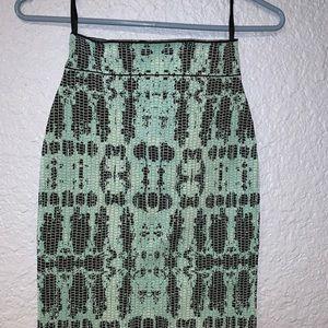BCBGMaxAzria Skirts - BCBG Scarlett Ink-Block Skirt Bodycon small